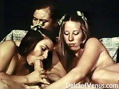 John Holmes & Lassie Scouts - Vintage Porn 1970s