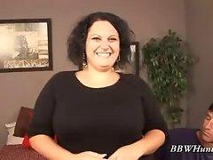 Giving blowjob Obese Chloe Blake
