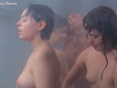 Dyanne Thorne, Lina Romay and Tania Busselier