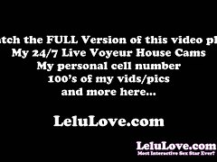Lelu Love-Masturbation Instruction Tease Denial