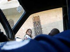 FLASHING Phallus ON CAR