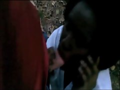 Black Slutty ebony Babe cheating while on the phone with boy