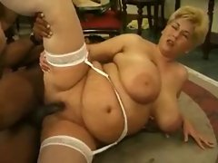 Chic attractive mature females with mega tits and .