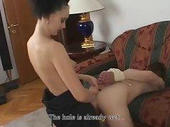 she fuck chap with huge strapon 7