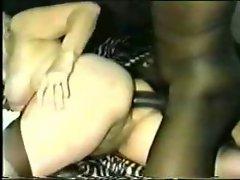 GRANNY LUVS BBC UP HER Stunning anal