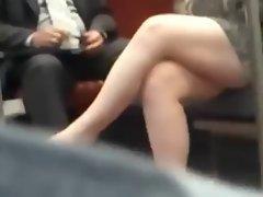 Candid Luscious Crossed Legs 14