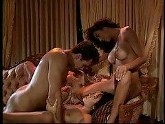 American couple have fun with an Asian Vixen