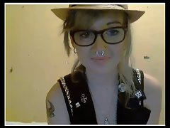 Shaggy Saucy teen Licks and Rides Her Friend On Cam No Sound