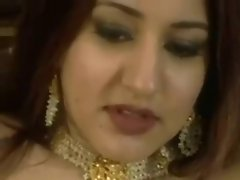 Arabian princess rides white shaft and loves butthole