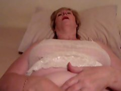 My luscious mommy playing