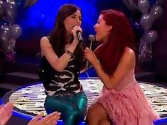 Victoria Justice and Ariana Grande