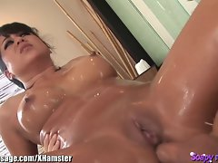Asian Massage Young woman Butt Banged