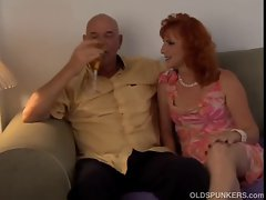Sensual experienced red head Sasha is a squirter