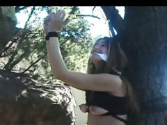 Milena Tied to a Tree