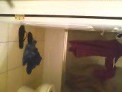 melina taking a shower 2