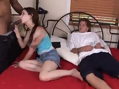18 years old cuckolds wife's fuckhole Expanded by BBC