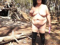 Brenda - Sex show in a freak landscape