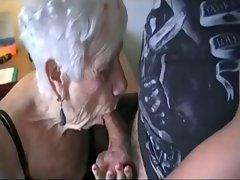 Skater dude fucks grandma