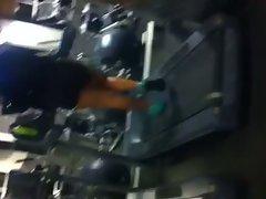 Phat Naughty ass on Treadmill